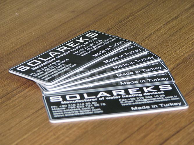 Lazer Etiket